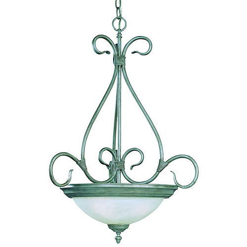 WMU Savoy House Piedmont 3 Light Bowl Pendant - Pewter