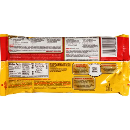Best NESTLE TOLL HOUSE Real Semi-Sweet Chocolate Morsels 12 oz. Bag deal