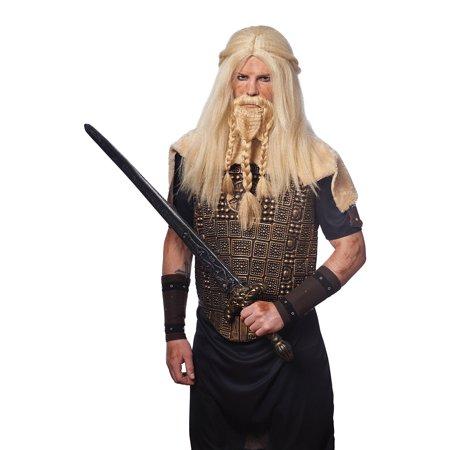 Adult Viking Wig & Beard byFranco American Novelties 21083-11