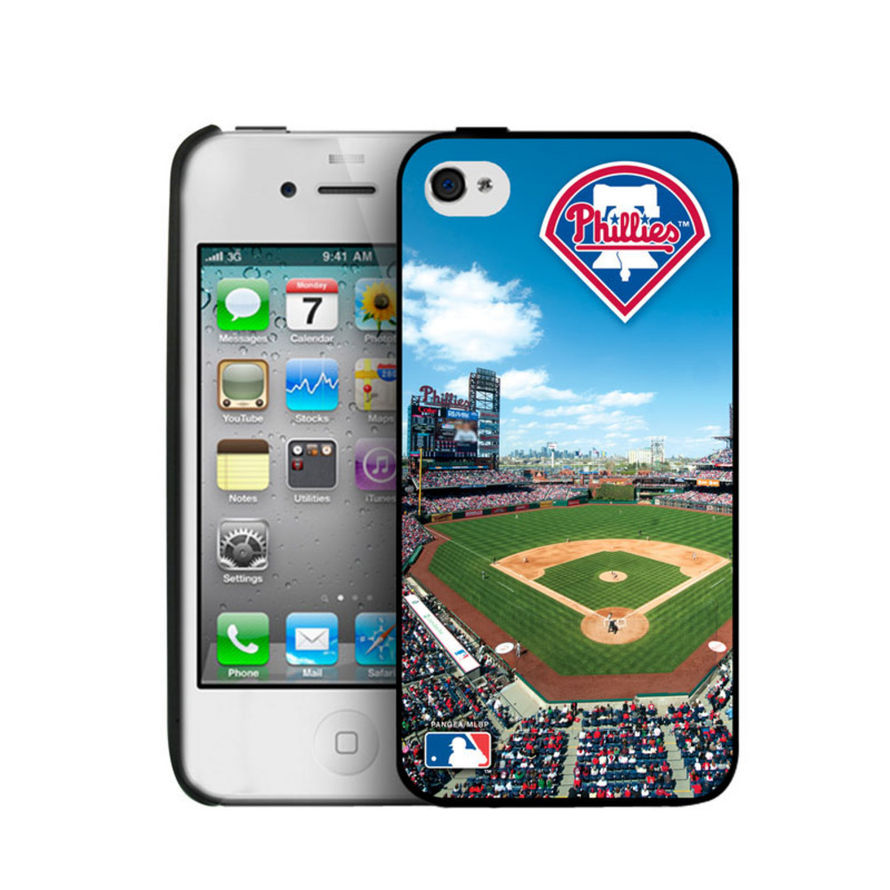 MLB Philadelphia Phillies Iphone 4/4S Hard Cover Case-Philadelphia 023209
