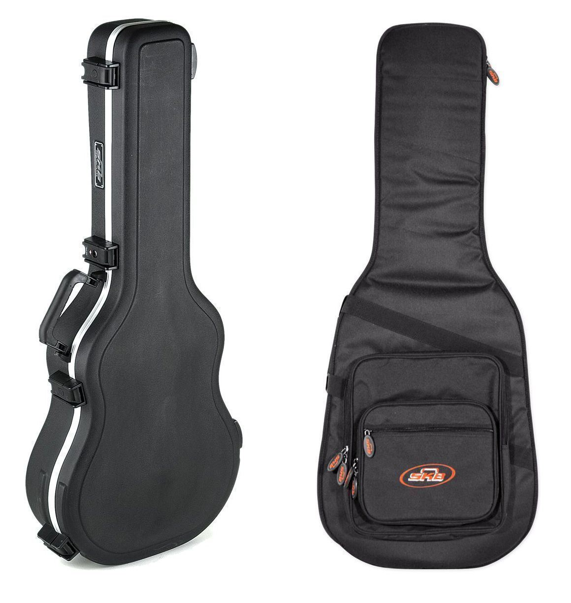 SKB 1SKB-30 Classic Hard Guitar Case+1KB-GB66 Soft Case by SKB