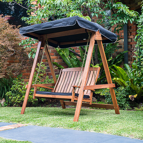 Lautan LLC Avoca Porch Swing with Stand by