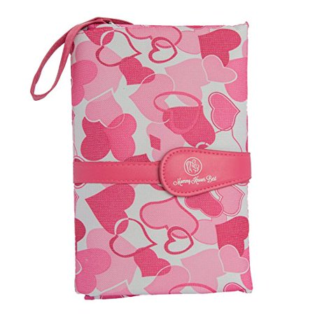 Mommy Knows Best Portable Baby Diaper Clutch Changing Pad Station - Stain-Resistant & Waterproof - Complete Travel System with Storage (Best Baby Stores In Miami)