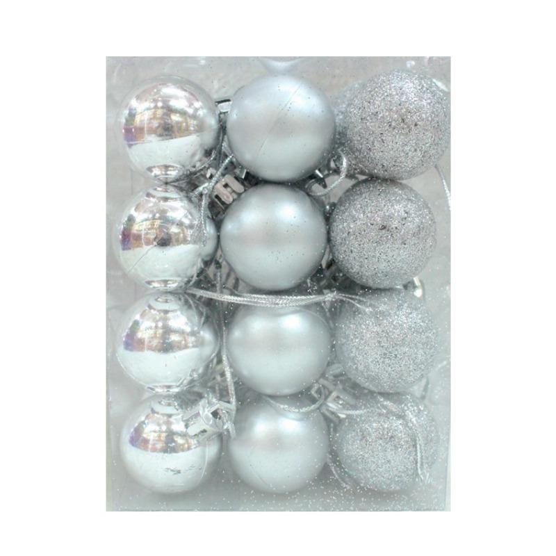 ENJOY 24pcs Christmas Tree Baubles Balls Decor Ornament Xmas Wedding Party Decorations