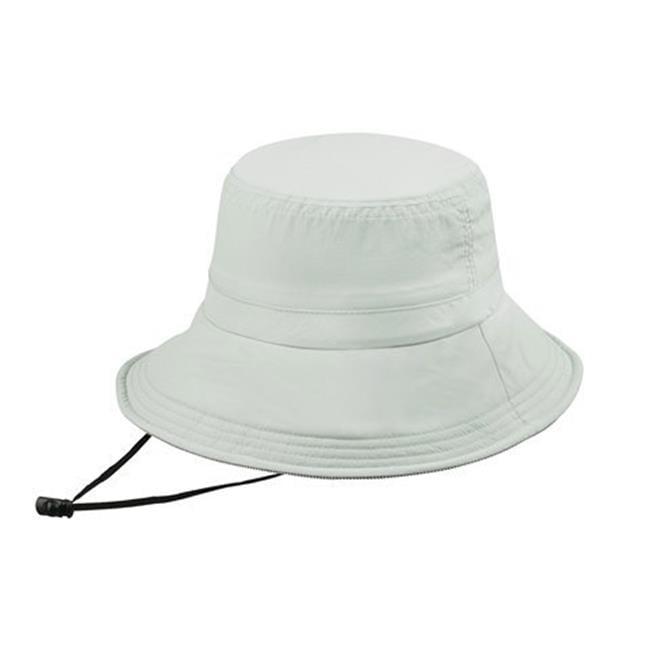 Juniper J7229 Taslon UV Bucket Hat With Removable Flap, Olive - image 1 de 1