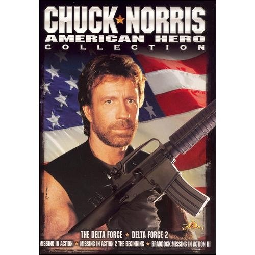 The Chuck Norris: American Hero Collection