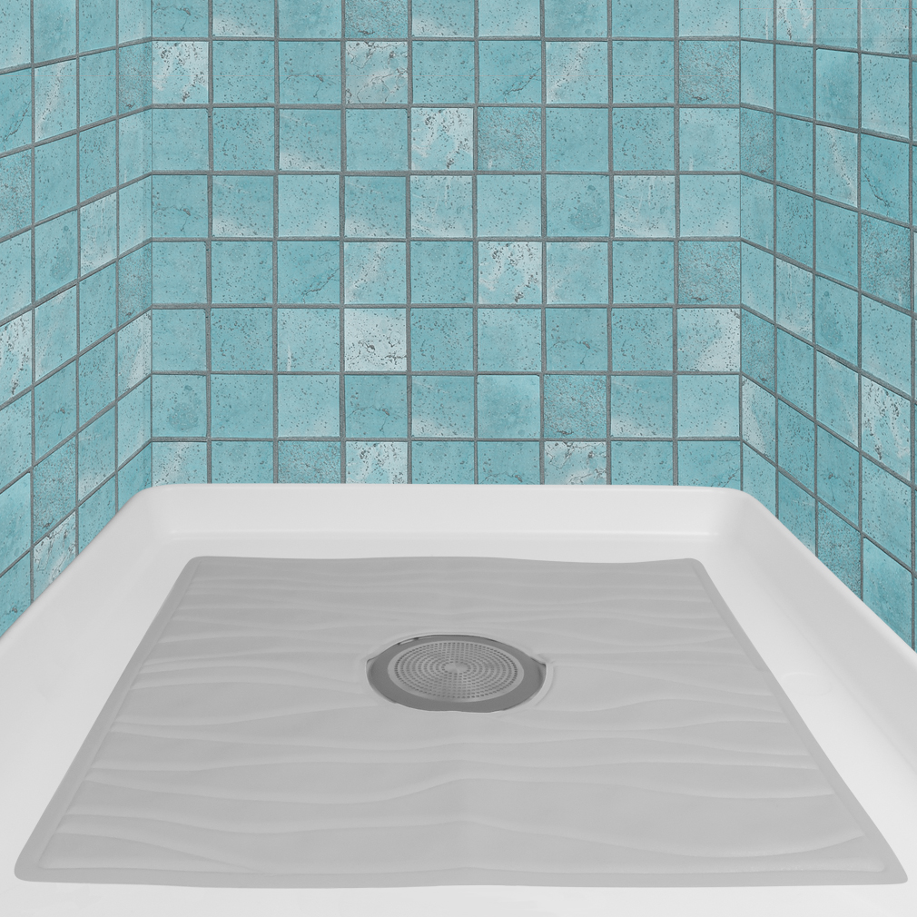 Evelots Non Slip Bath U0026 Shower Mat With Powerful Suction Cups, ...
