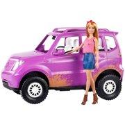 Barbie Estate Sweet Orchard Farm Barbie Doll & Purple Vehicle