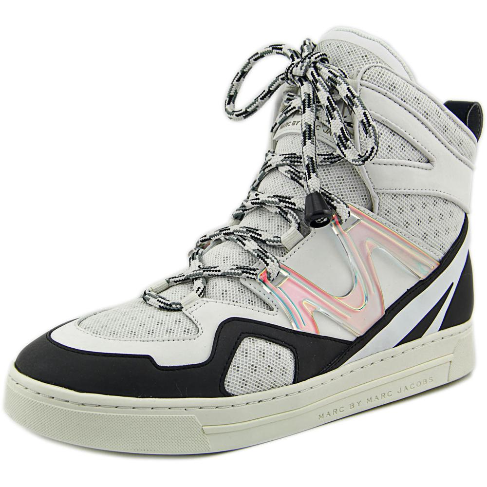 Marc By Marc Jacobs Ninja Hi-Top Women   Synthetic White Fashion Sneakers