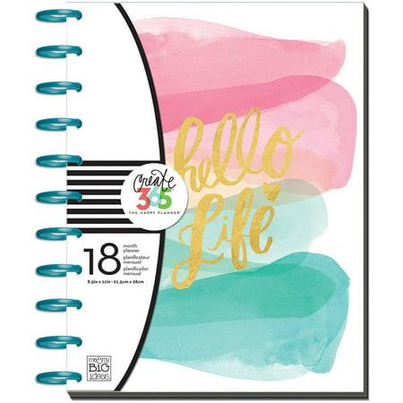 Create 365 18-Month Planner 9.25