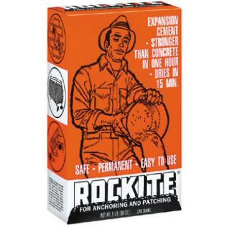 5 LB Box Rockite Anchoring Cement Only (Rockite Anchoring Cement)