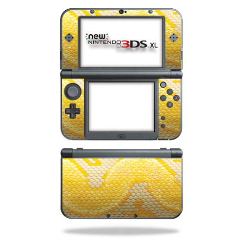 MightySkins Protective Vinyl Skin Decal for New Nintendo 3DS XL (2015) Case wrap cover sticker skins Albino Python