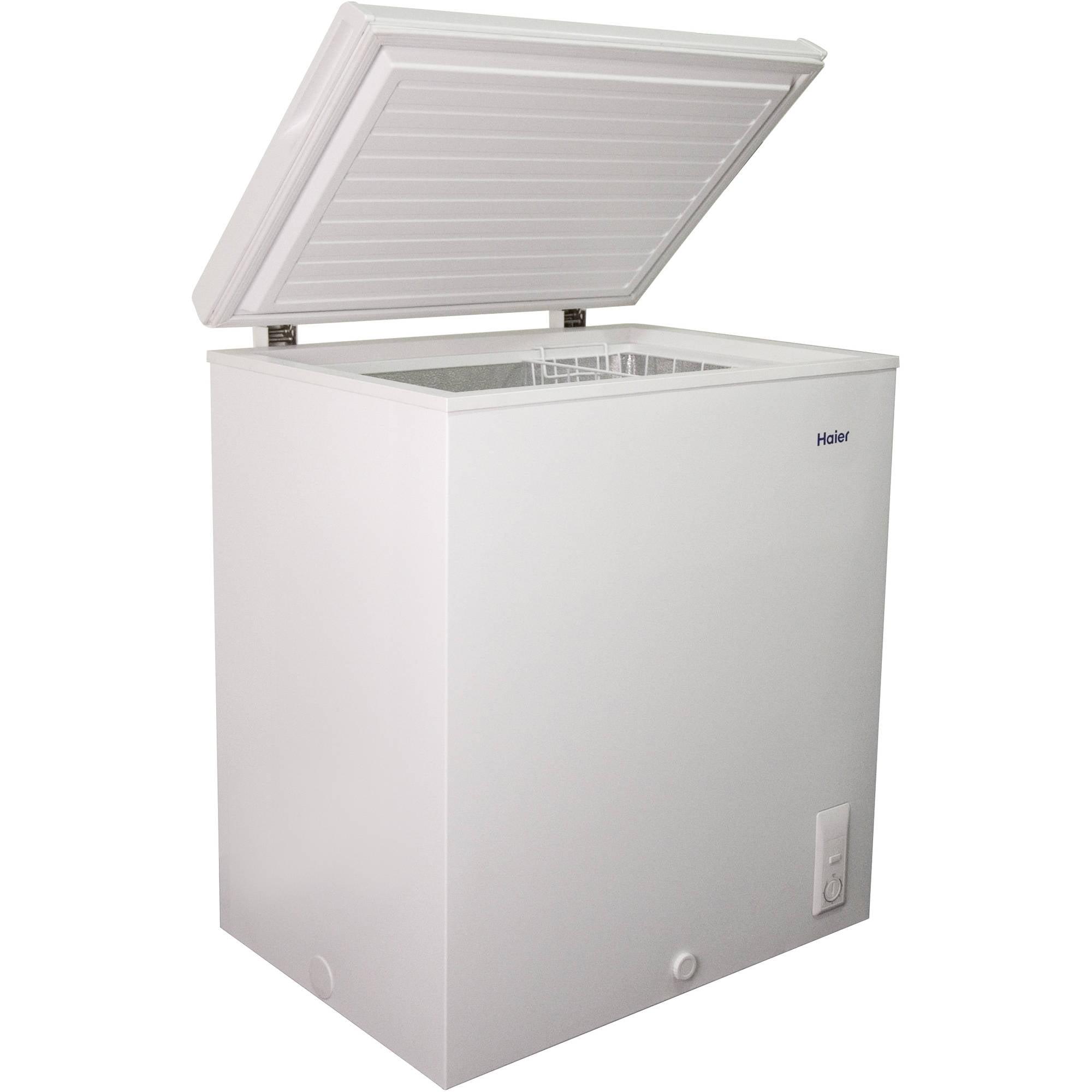 Haier 5.0 cu.ft. Capacity Chest Freezer, HF50CM23NW ... on