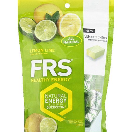 Frs Healthy Energy Lemon Lime Dietary Supplement Soft