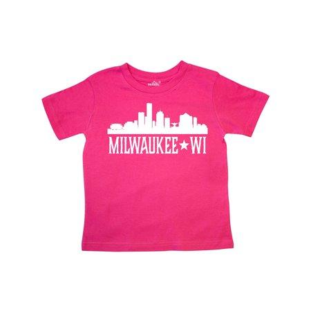 Milwaukee Wisconsin Skyline WI Cities Toddler T-Shirt (Party City Milwaukee Wi)