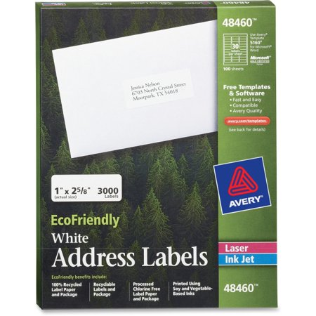 Avery Address Labels 30 Per Sheet Compare Prices At Nextag