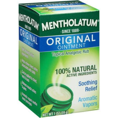 Mentholatum Topical Analgesic Ointment, 1 Oz