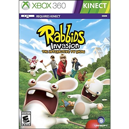 Rabbids Invasion, Ubisoft, XBOX 360, 887256301750