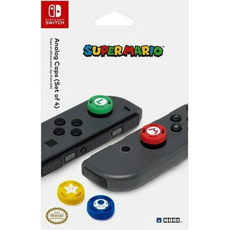 - HORI Analog Caps - Super Mario Edition for Nintendo Switch