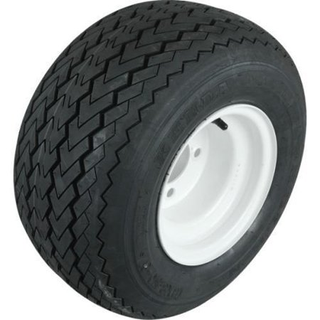 - Club Car Utility Vehicle Tire And Wheel Assembly - White