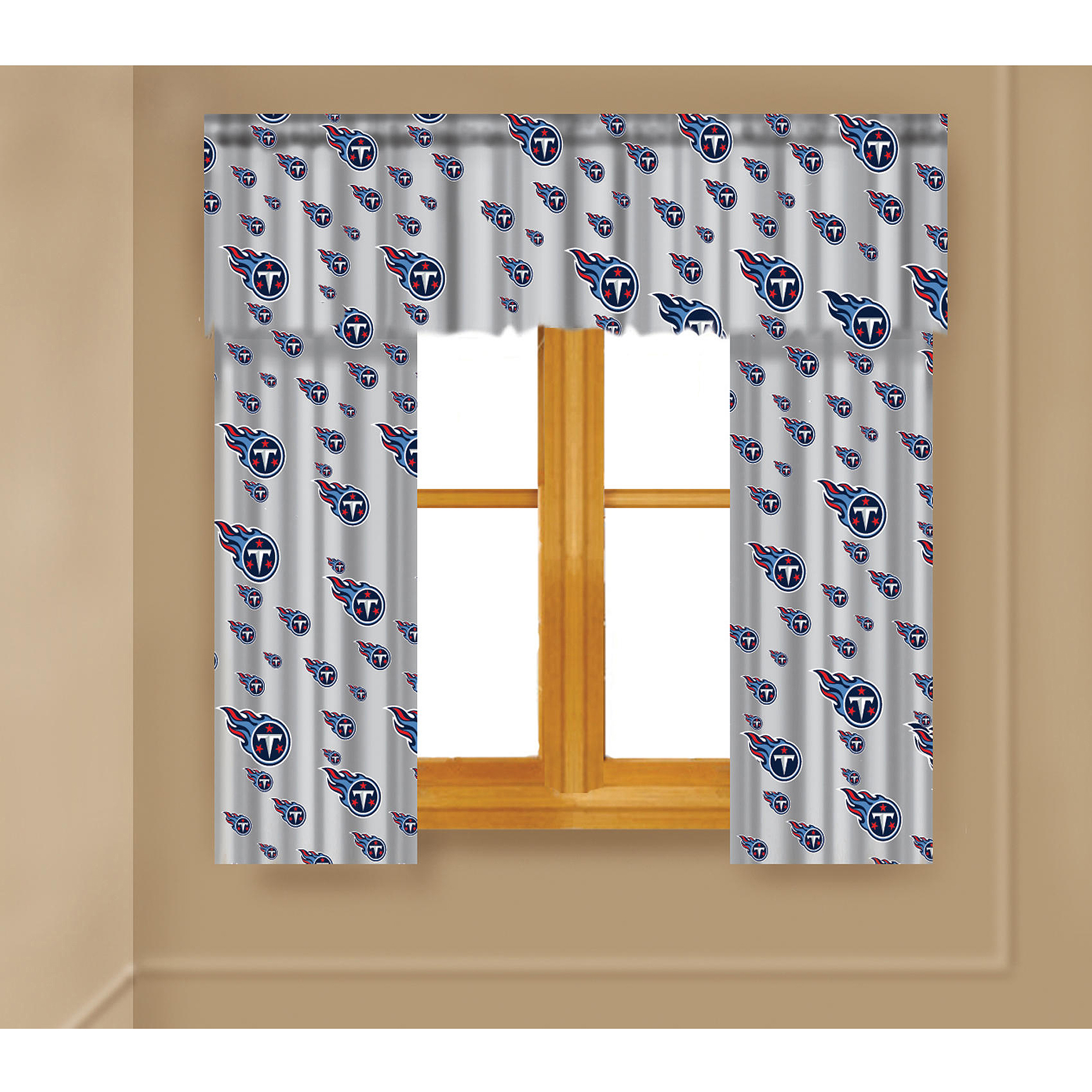 NFL Tennessee Titans Window Curtain Panels - Walmart.com