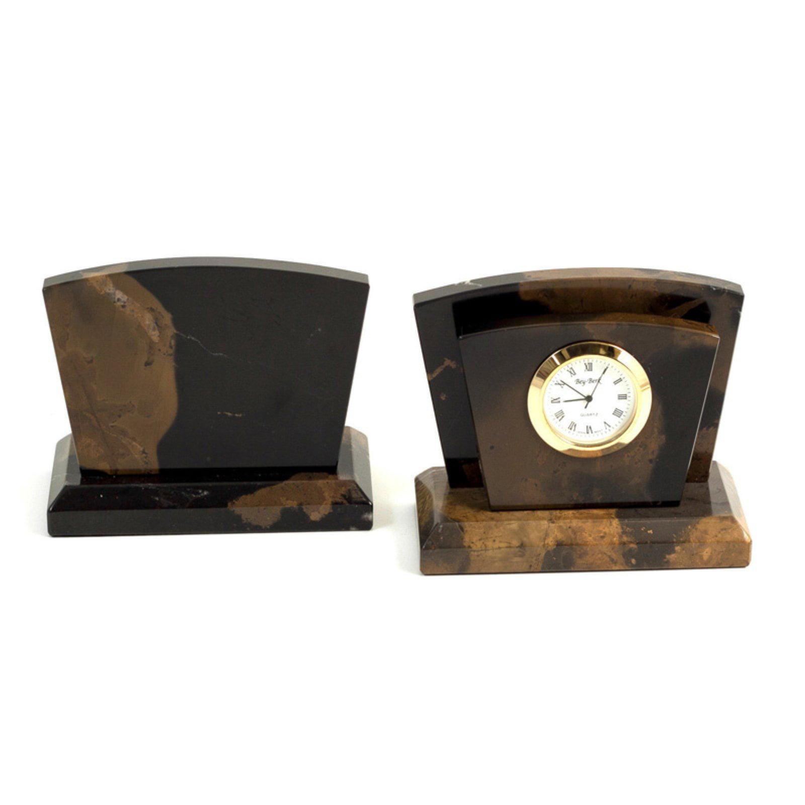 Bey-Berk International Clock with Letter Rack by Bey Berk