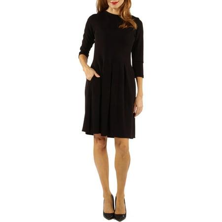 Women's Classic Flared Dress