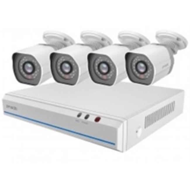Zmodo ZM-SS78D9D8-4S 8-Channel 720p NVR system with 4HD I...