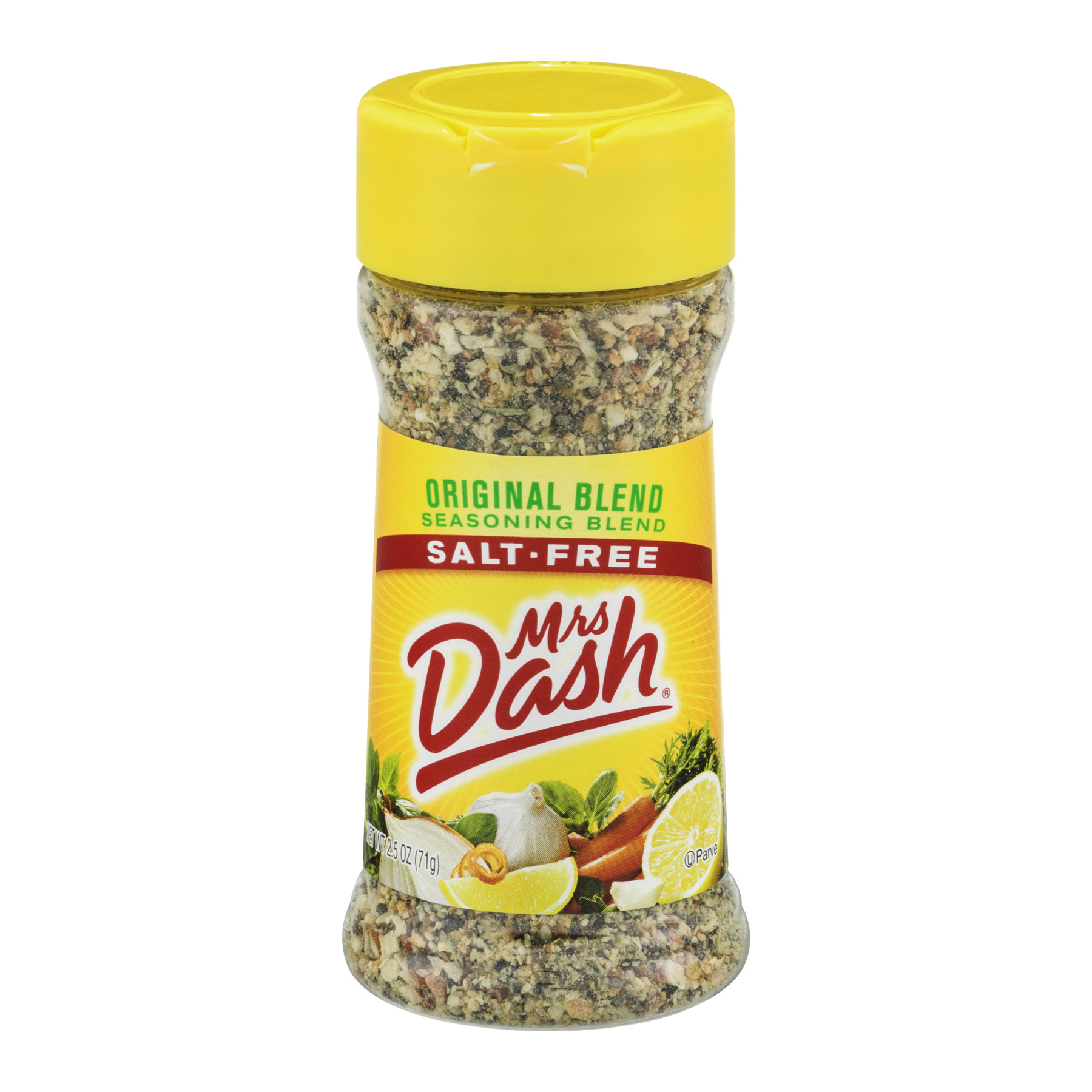 (3 Pack) Mrs. Dash Original Blend Salt-Free Seasoning Blend 2.5 Oz