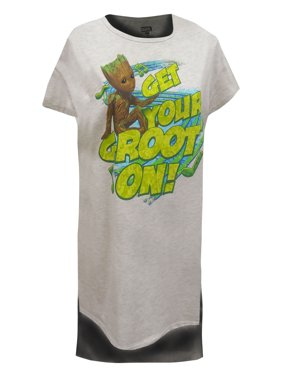 f0f24e97e Product Image Guardians Of The Galaxy Get Your Groot On Night Shirt