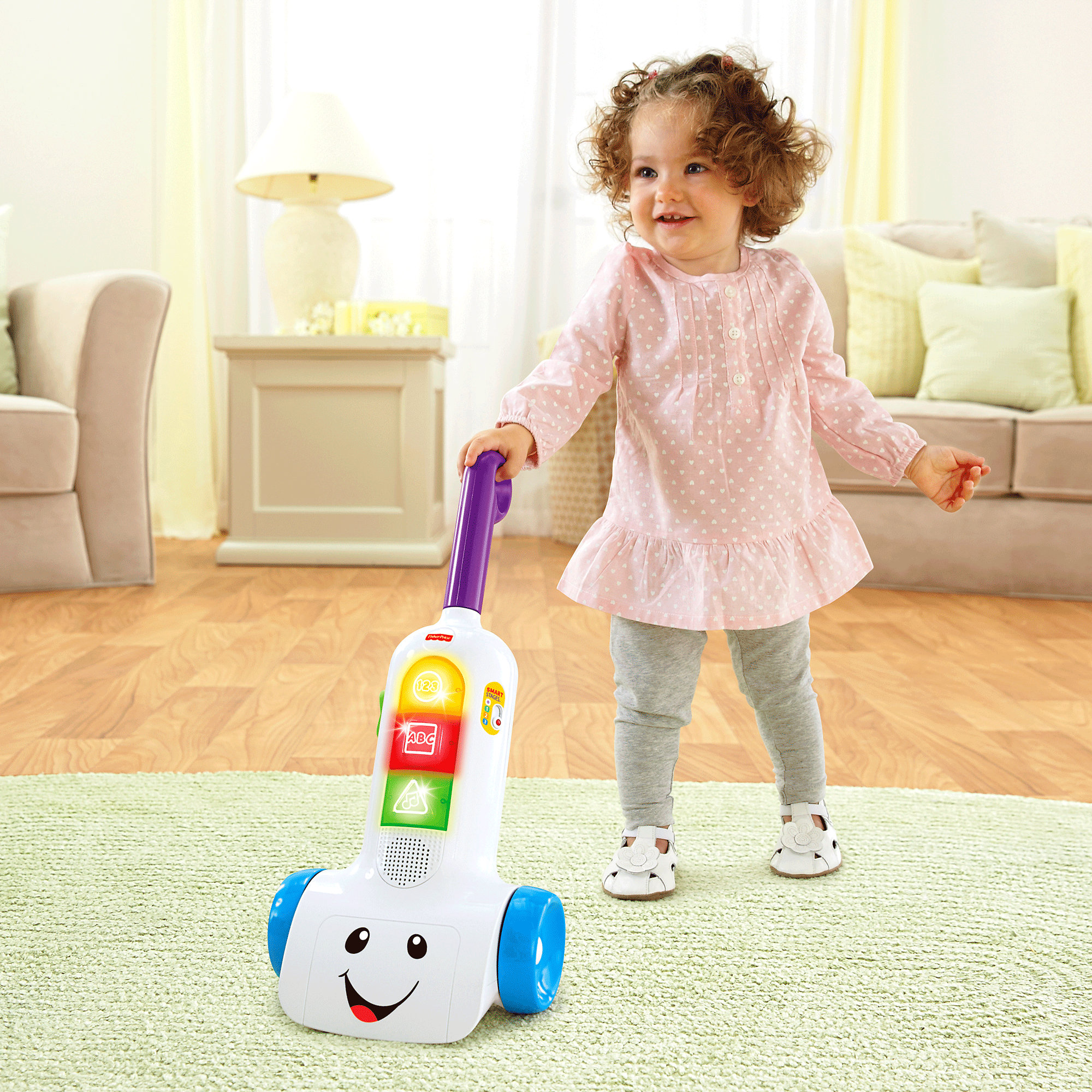 Fisher Price Laugh & Learn Smart Stages Vacuum by Fisher-Price