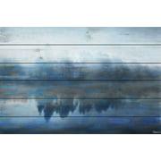 Parvez Taj Lake Marmont Art Print on White Pine Wood
