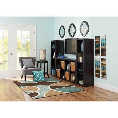 Better Homes and Gardens 16-Cube Organizer, Wall Unit, Multiple Colors