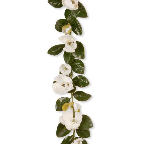 "60"" Garden Accents Magnolia Garland"