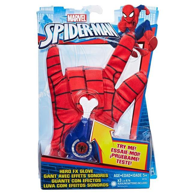 Hasbro HSBB9762 Spider Man Hero FX Glove - Set of 6