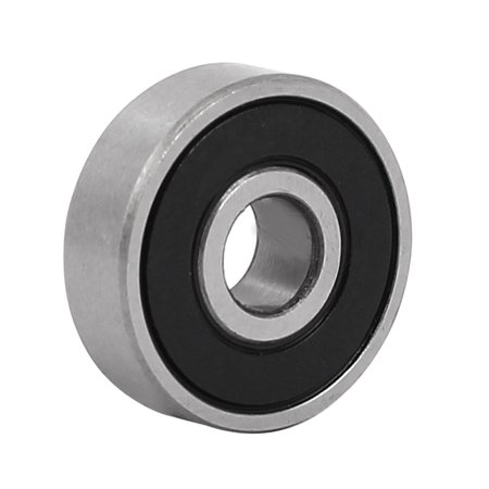 5 Pcs 19mmx6mmx6mm Stainless Steel Double Shielded Deep Groove Ball Bearing - image 2 of 4