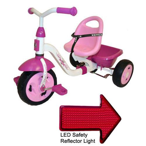 Kettler 8838-790  Kettrike Happy Prinzessin Navigator with LED Reflector Light