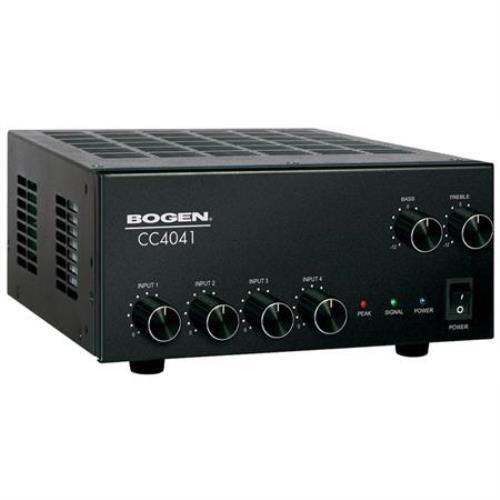 Bogen Communications Compact Mixer/Amplifier 40W 4 Inputs...