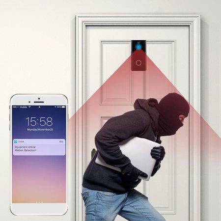 720P WiFi Visual Intercom Door Wireless PIR infrared sensor