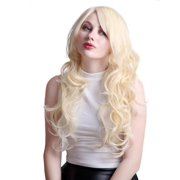 HDE Long Wavy Blonde Hairstyle Wig