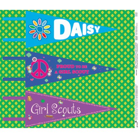 Riley Blake Designs Girl Scouts Green Felt Pennants Roll, 3 Pieces](Halloween Games Girl Scouts)