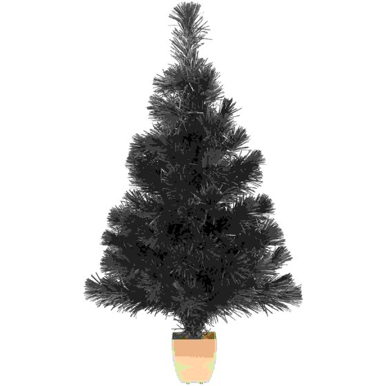 Holiday Time 32-Inch Green Fiber Optic Tree 83 Tips with Continuously  Changing Color - Walmart.com - Holiday Time 32-Inch Green Fiber Optic Tree 83 Tips With
