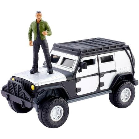 Fast & Furious Stunt Stars Tej + Jeep Wrangler Rubicon