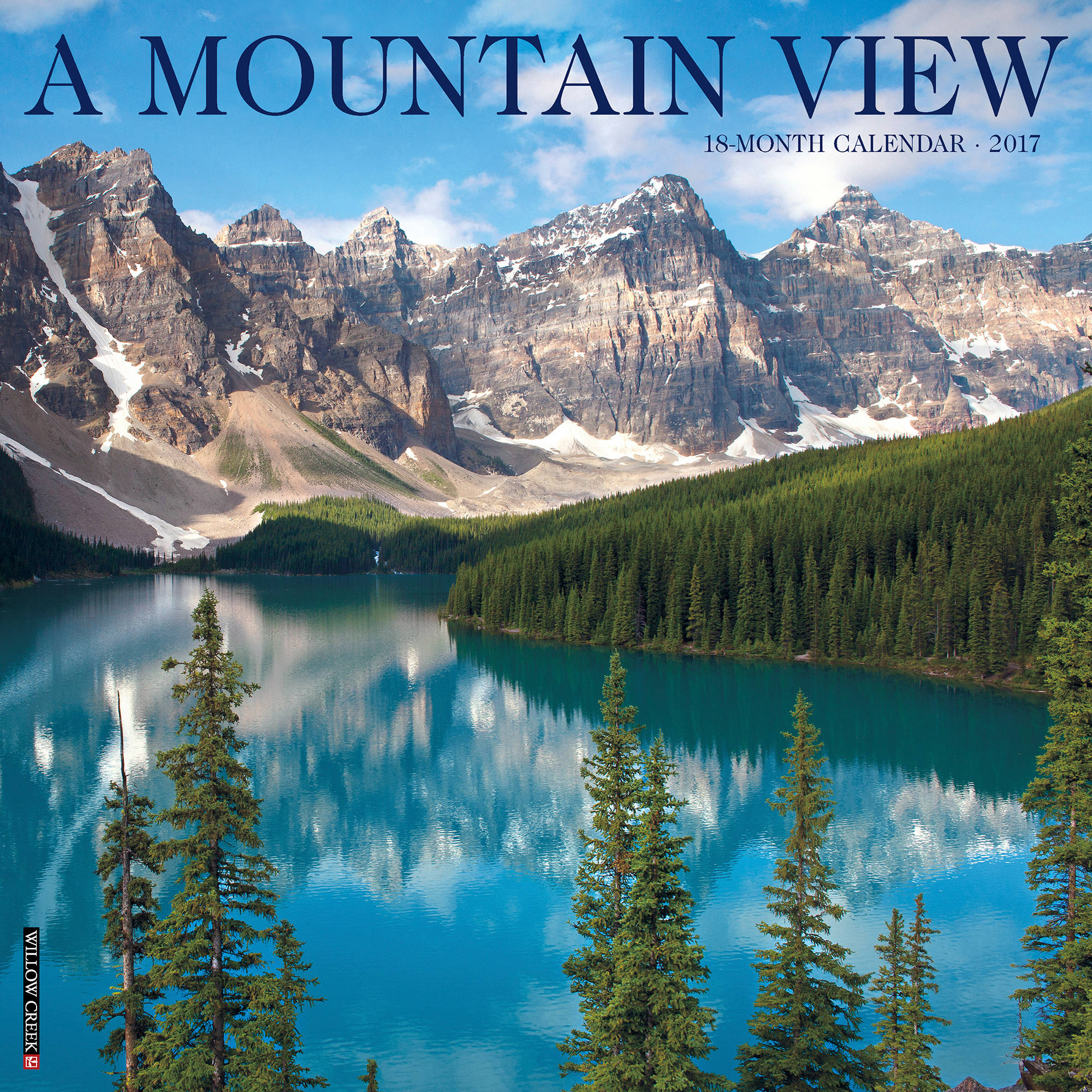 2017 Mountain View Wall Calendar 41490