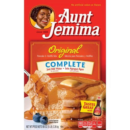 Aunt Jemima Original Complete Pancake & Waffle Mix, 80 oz