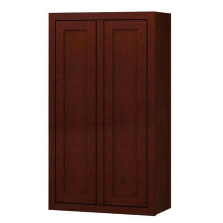 Sagehill Designs Ldw2442 Lakewood 24 X 42 Double Door Kitchen Wall Cabinet