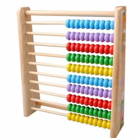 Akoyovwerve Wooden Abacus-Classic Colorful Children's Math and Counting Toy with Free-Standing Frame and 100 Beads-Learning and Educational Toy for 1-5 Years Old Mathematics Teaching](Best Educational Toys For 4 Year Olds)