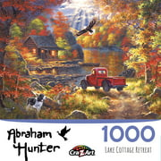 Abraham Hunter - Lake Cottage Retreat - 1000 piece Jigsaw puzzle