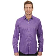 Robert Graham XC001000TF Houseboat Long Sleeve Shirt Medium Purple