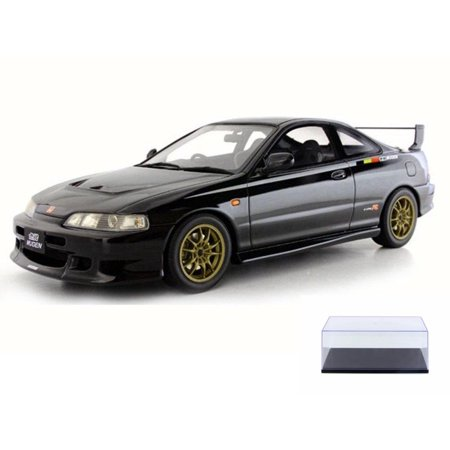 Diecast Car & Display Case Package - Honda Integra DC2 Type-R Mugen, Black - Kyosho OT734 - 1/18 Scale Collectible Resin Model Car w/Display Case Kyosho Motor Case